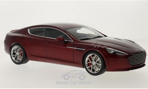Aston Martin Rapide 1/18 AUTOart S metallise rouge 2015 miniature
