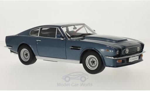 Aston Martin V8 Vantage 1/18 AUTOart Vantage metallic-bleue RHD 1985 miniature