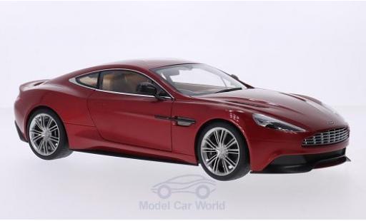 Aston Martin Vanquish 1/18 AUTOart mettalic rot RHD 2015 modellautos