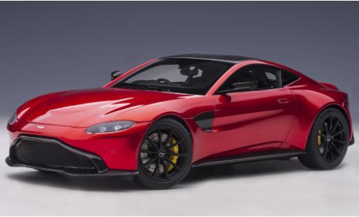 Aston Martin Vantage 1/18 AUTOart red/carbon RHD 2019 diecast model cars