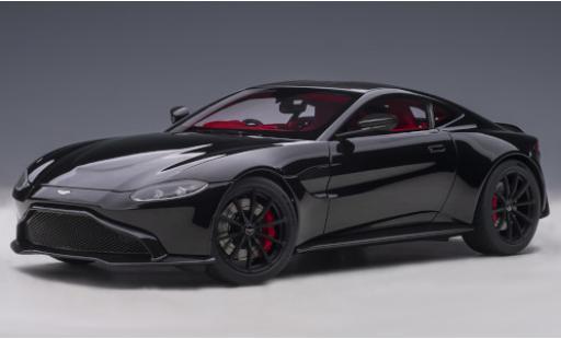 Aston Martin Vantage 1/18 AUTOart black RHD 2019 diecast model cars