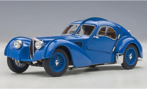Bugatti 57 1/43 AUTOart SC Atlantic blau RHD 1938 modellautos