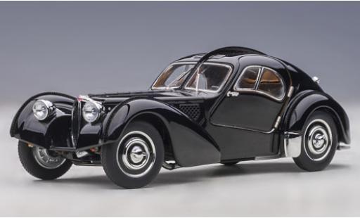 Bugatti 57 1/43 AUTOart SC Atlantic black RHD 1938 diecast model cars