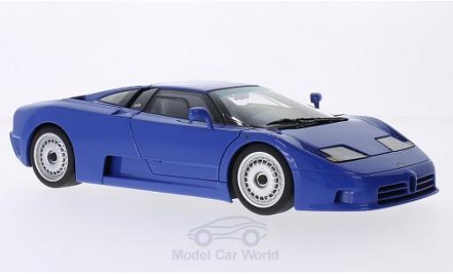 Bugatti EB110 1/18 AUTOart GT bleue 1991 miniature