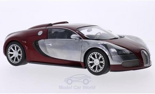 Bugatti Veyron Edition Centenaire 1/18 AUTOart EB 16.4 rouge/chrom 2009 Achille Varzi miniature