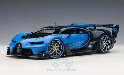 Bugatti Vision 1/18 AUTOart GT azul/azul 2015 miniatura