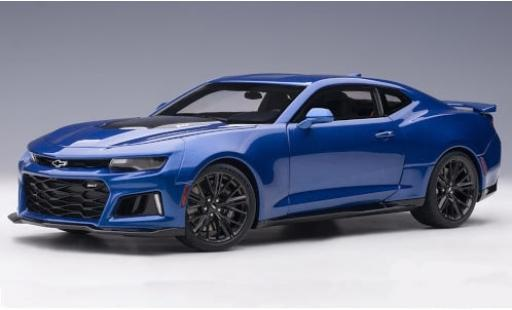 Chevrolet Camaro 1/18 AUTOart ZL1 metallise blue/carbon 2017 diecast model cars