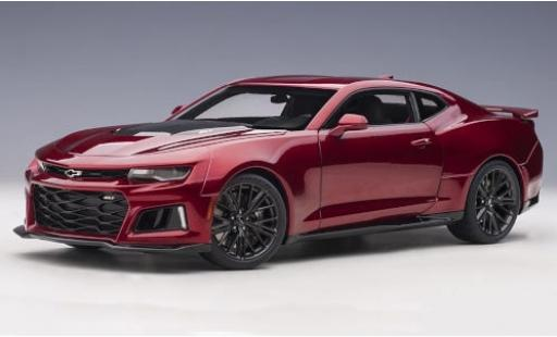 Chevrolet Camaro 1/18 AUTOart ZL1 metallise red/carbon 2017 diecast model cars