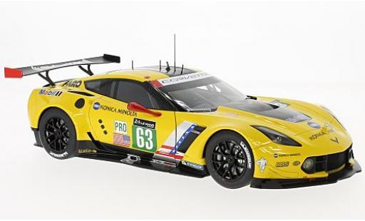 Chevrolet Corvette 1/18 AUTOart C7.R No.63 24h Le Mans 2016 J.Magnussen/A.Garcia/R.Taylor miniature