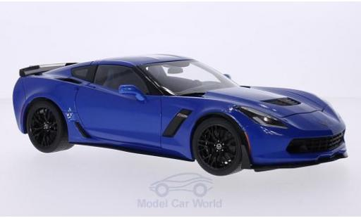Chevrolet Corvette C7 1/18 AUTOart  Z06 metallise blue 2014 diecast model cars
