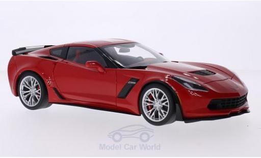 Chevrolet Corvette C7 1/18 AUTOart  Z06 red 2014 diecast model cars
