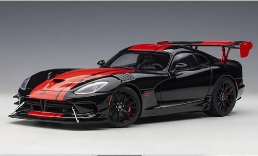 Dodge Viper 1/18 AUTOart 1:28 Edition ACR noire/rouge 2017 miniature