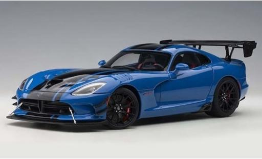 Dodge Viper 1/18 AUTOart ACR blue/black 2017 diecast model cars