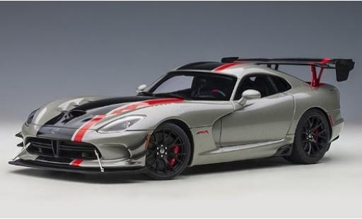 Dodge Viper 1/18 AUTOart ACR metallise grey/Dekor 2017 diecast model cars