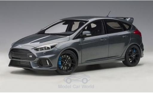 Ford Focus 1/18 AUTOart MKIII RS metallise grise 2016 miniature