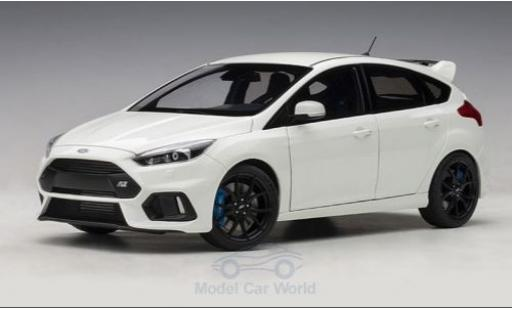 Ford Focus 1/18 AUTOart MKIII RS blanche 2016 miniature