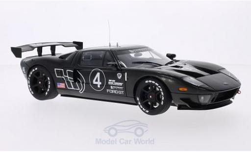 Ford GT 1/18 AUTOart LM Spec II carbon No.4 2005 Test Car miniature