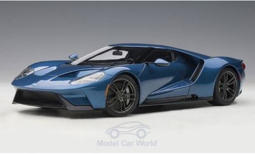 Ford GT 1/18 AUTOart metallise bleue 2017 miniature