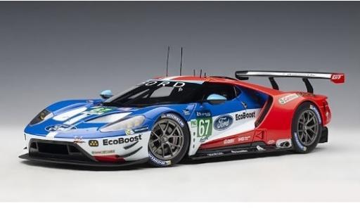Ford GT 1/18 AUTOart No.67 Chip Ganassi Team UK 24h Le Mans 2017 H.Tincknell/A.Priaulx/L.F.Derani diecast model cars