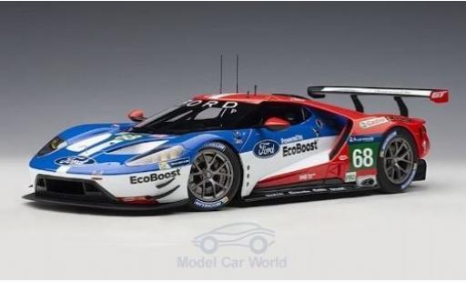 Ford GT 1/18 AUTOart No.68 Chip Ganassi Racing USA 24h Le Mans 2016 J.Hand/D.Müller/S.Bourdais miniatura