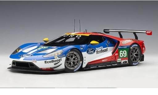 Ford GT 1/18 AUTOart No.69 Chip Ganassi Team USA EcoBoost 24h Le Mans 2016 R.Briscoe/S.Dixon/R.Westbrook modellino in miniatura