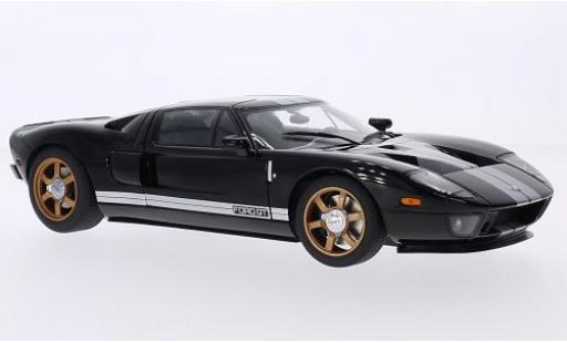 Ford GT 1/18 AUTOart black/white 2004 diecast model cars