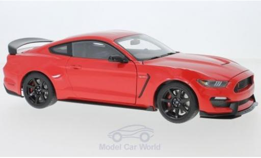 Ford Mustang 1/18 AUTOart Shelby GT-350R rot 2017 modellautos