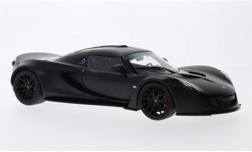 Hennessey Venom 1/18 AUTOart GT matt-noire 2010 miniature