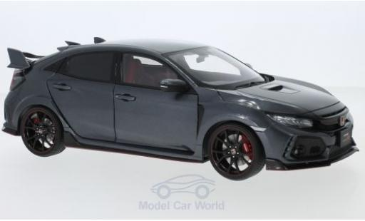 Honda Civic 1/18 AUTOart Type R (FK8) anthrazit RHD 2017 diecast model cars