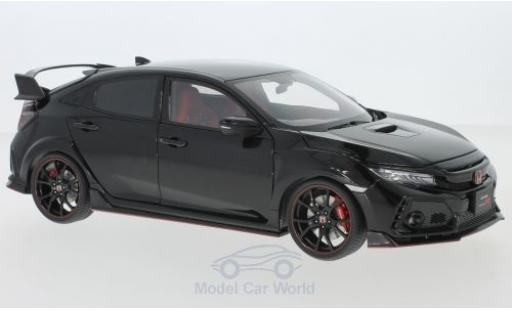 Honda Civic 1/18 AUTOart Type R (FK8) metallic black RHD 2017 diecast