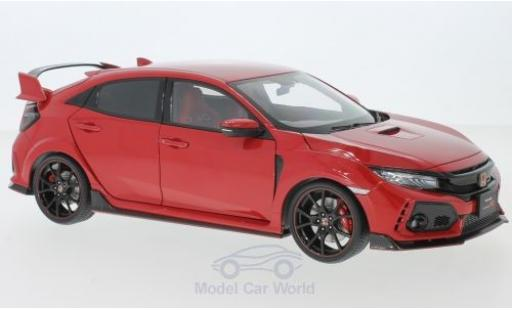 Honda Civic 1/18 AUTOart Type R (FK8) rouge RHD 2017 miniature