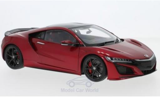 Honda NSX 1/18 AUTOart (NC1) metallise red RHD 2016 diecast model cars