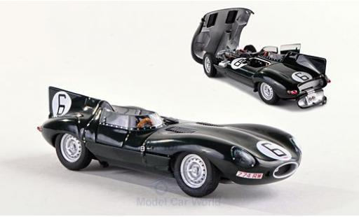 Jaguar D-Type 1/43 AUTOart No.6 24h Le Mans 1955 M.Hawthorn/Bueb miniature