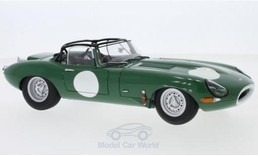 Jaguar E-Type 1/18 AUTOart Lightweight green RHD mit abnehmbarem Dach diecast model cars