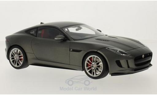 Jaguar F-Type 1/18 AUTOart R Coupe matt-grise 2015 miniature