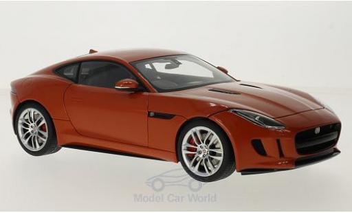 Jaguar F-Type 1/18 AUTOart R Coupe metallise orange RHD 2015 miniature