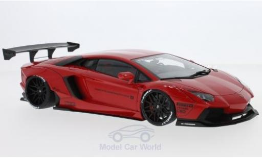Lamborghini Aventador 1/18 AUTOart LB-Works red 2015 diecast