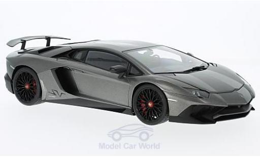 Lamborghini Aventador 1/18 AUTOart LP750-4 SV matt-grey 2015 diecast model cars