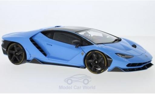 Lamborghini Centenario 1/18 AUTOart metallise blue diecast model cars