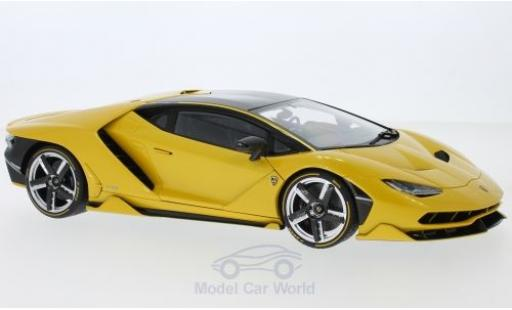 Lamborghini Centenario 1/18 AUTOart metallise yellow diecast model cars