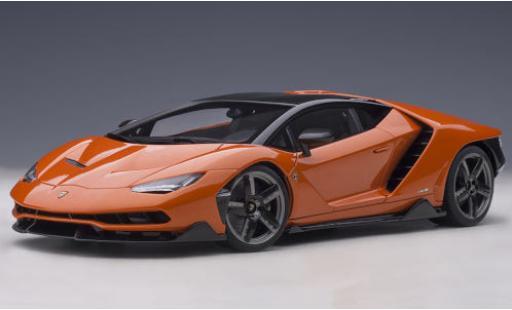 Lamborghini Centenario 1/18 AUTOart metallise orange/carbon 2016 diecast model cars