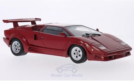 Lamborghini Countach 1/18 AUTOart rouge 1998 25 Jahre Jubiläum miniature