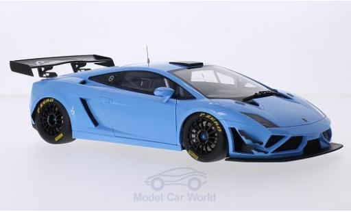 Lamborghini Gallardo 1/18 AUTOart GT3 FL2 metallise bleue 2013 Plain Body Version miniature