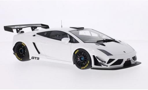 Lamborghini Gallardo 1/18 AUTOart GT3 FL2 white 2013 sans Vitrine diecast model cars