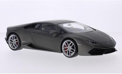 Lamborghini Huracan 1/43 AUTOart LP610-4 matt-grey 2014 diecast