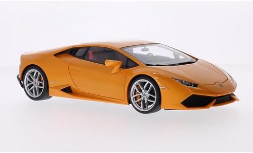 Lamborghini Huracan 1/18 AUTOart LP610-4 metallise orange 2014 diecast model cars