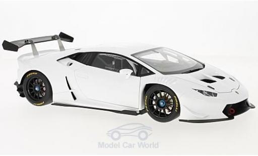 Lamborghini Huracan 1/18 AUTOart Super Trofeo white 2016 diecast model cars