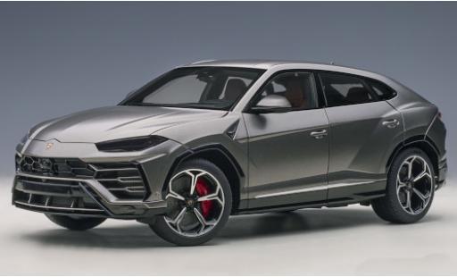 Lamborghini Urus 1/18 AUTOart matt-grey 2018 diecast model cars