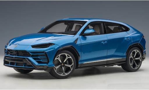 Lamborghini Urus 1/18 AUTOart metallise blue 2018 diecast model cars