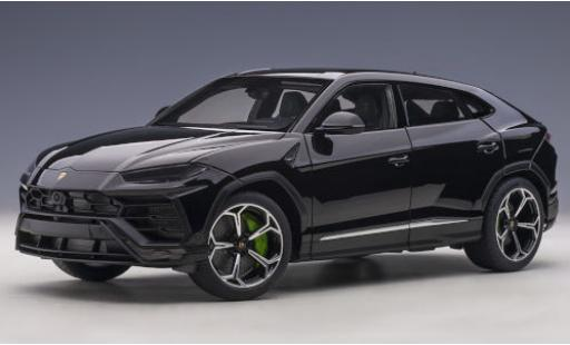 Lamborghini Urus 1/18 AUTOart black 2018 diecast model cars